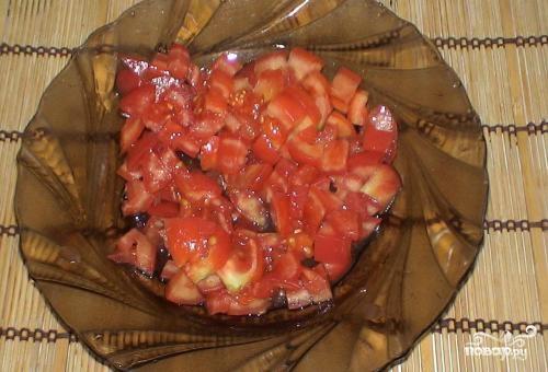Картофель, тушенный со свининой и помидорами - фото шаг 4