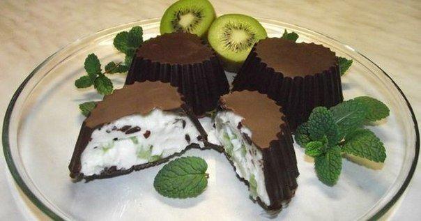 Творожок в шоколаде - фото шаг 8