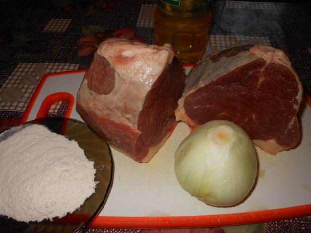 Рецепт Говядина по-уральски