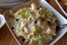 Салат из сельдерея с ананасом