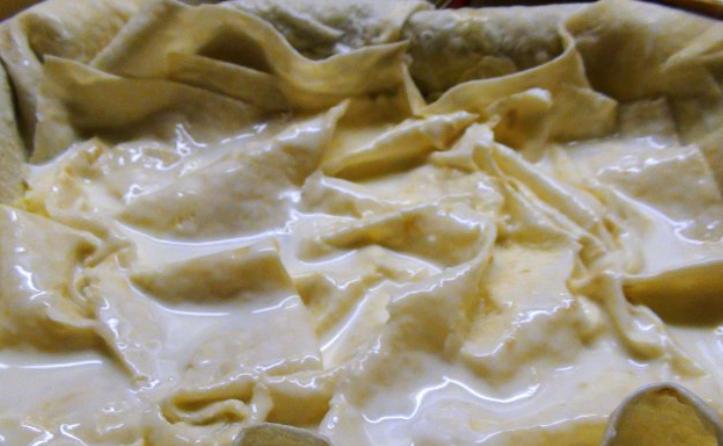 Ачма с сыром и творогом - фото шаг 4