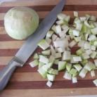 Рецепт Суп из кольраби с гренками