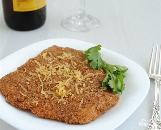 Рецепт Отбивные из индейки с сыром