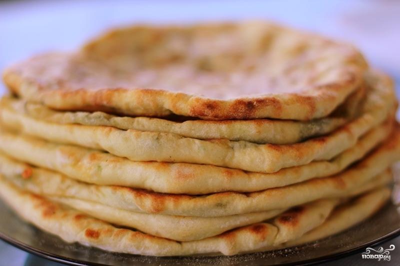 Рецепт лепешек с сыром на кефире