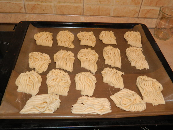 Печенье песочное через мясорубку - фото шаг 3