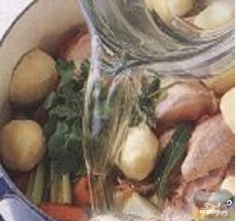 Латинский куриный суп - фото шаг 1
