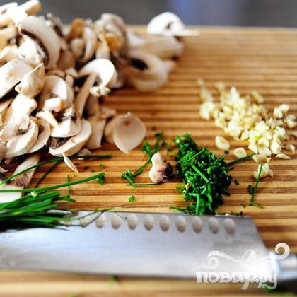 Курица с грибами и артишоками - фото шаг 1