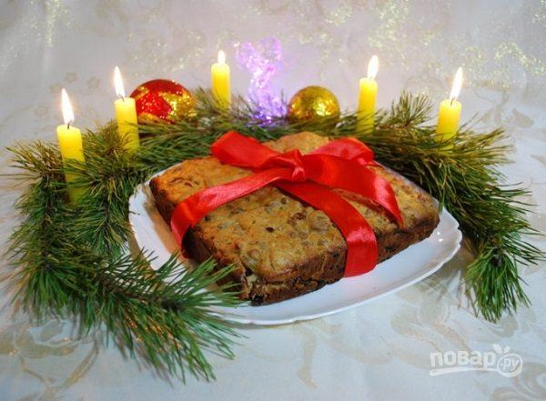 Рождественский пирог русский
