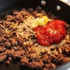 Рецепт Лепешки с говяжьим фаршем и сыром