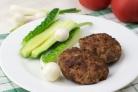 Котлеты из свинины и говядины
