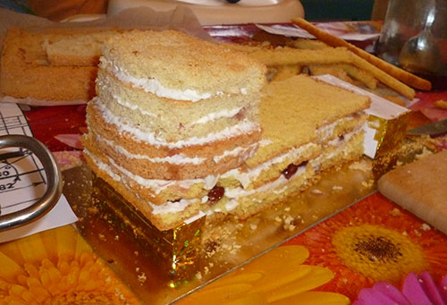 Чем промазать торт в домашних условиях