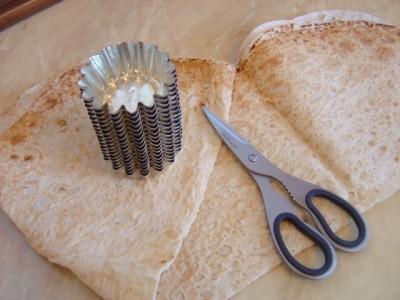 Рецепт Тарталетки из лаваша
