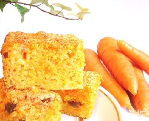 Рецепт Морковный пудинг на пару