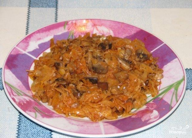 Рецепт Бигус из капусты