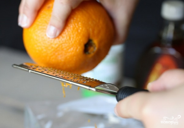 Апельсиновый соус к рыбе - фото шаг 1