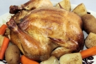 Курица на соли в мультиварке