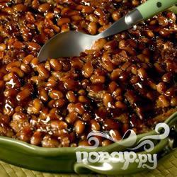 Рецепт Бостонская печеная фасоль