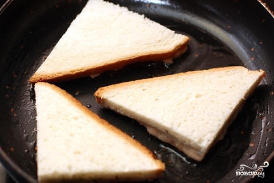 Креветочные тосты - фото шаг 5