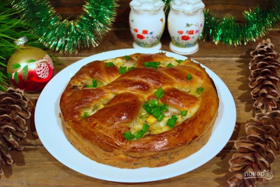 Тесто на курник рассыпчатое