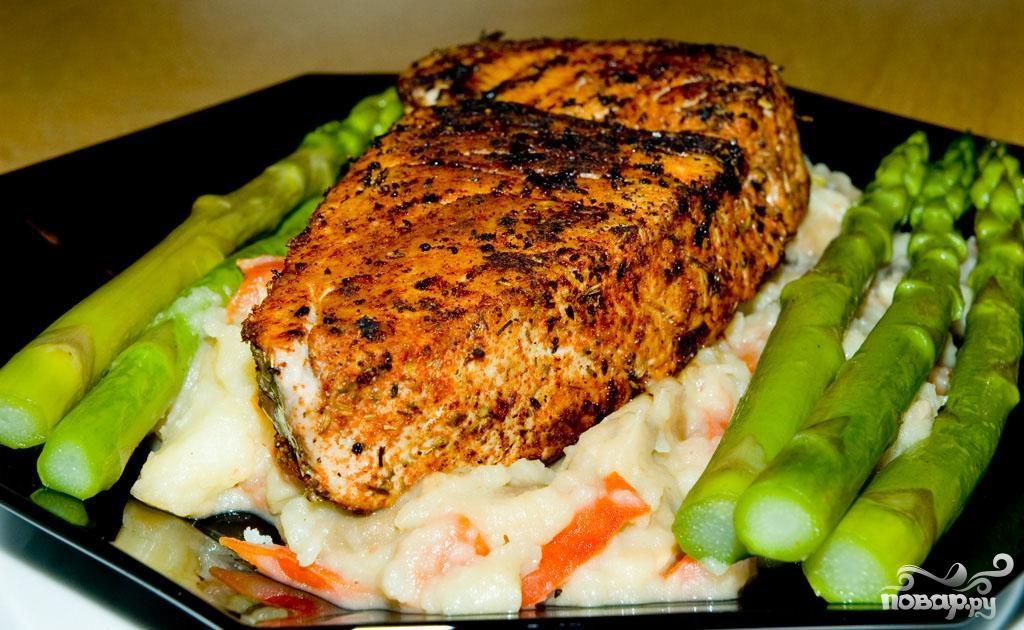 Рецепт филе тунца с фото