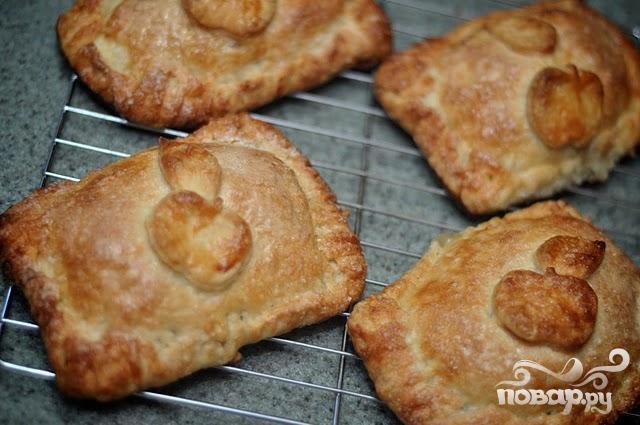 Яблочные пирожки - фото шаг 8