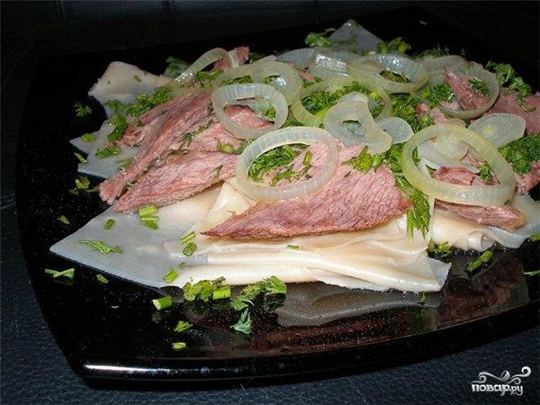 Бешбармак из свинины
