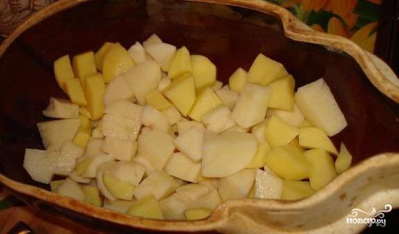 Картофель с фрикадельками - фото шаг 4