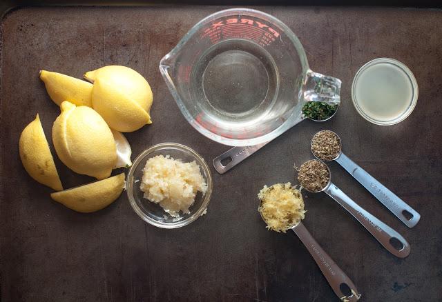 Рецепт Курица в лимонном соке