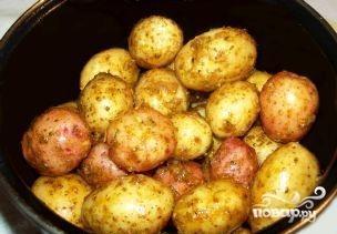 Картофель в духовке в кожуре - фото шаг 2