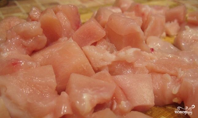 Суп из куриной грудки - фото шаг 1