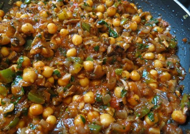 Рецепт Кабачки, фаршированные грибами, запеченные в духовке