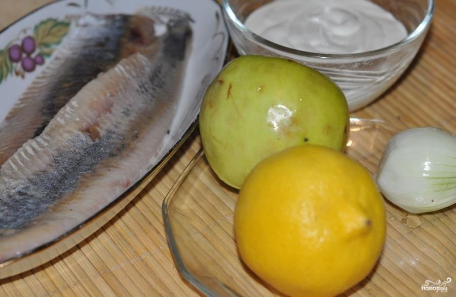Соус для селедки - фото шаг 1
