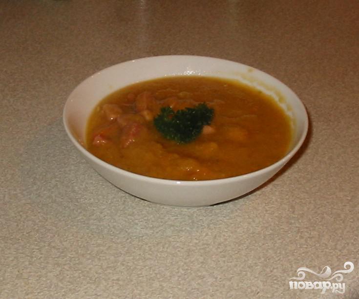 Суп с горохом и говядиной рецепт с фото