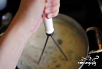 Итальянский сырный суп - фото шаг 9