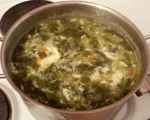 Суп без мяса - фото шаг 9