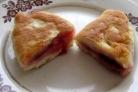 Пирожки с вишней на кефире