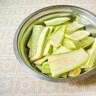 Рецепт Жареные кабачки с чесночным соусом