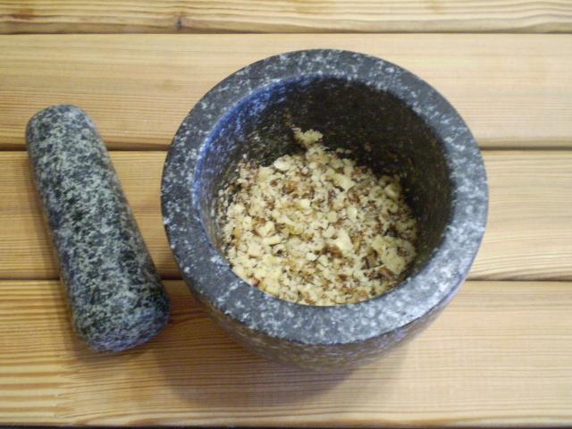 Песочное печенье с орехами - фото шаг 2