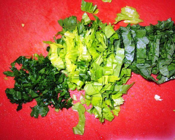 Суп с брюссельской капустой - фото шаг 4