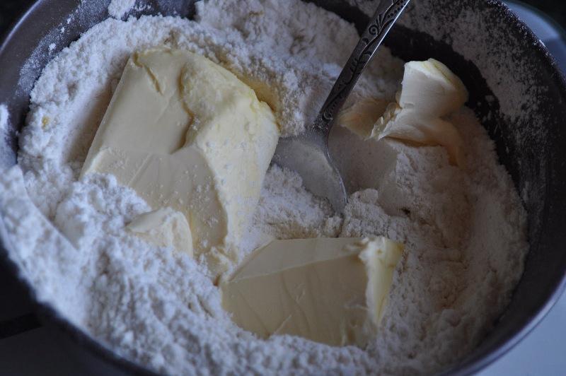 Лимонные пирожные с клюквой - фото шаг 2