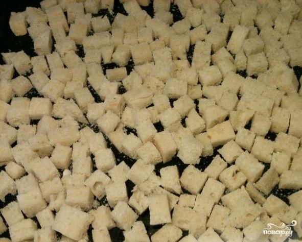 Домашние сухарики в духовке - фото шаг 4