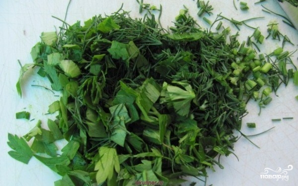 Греческий салат с орехами - фото шаг 5