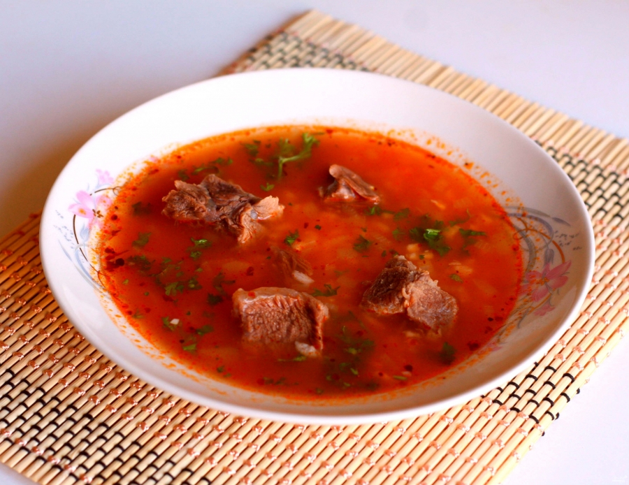 "Суп ""Гаспачо"" горячий"