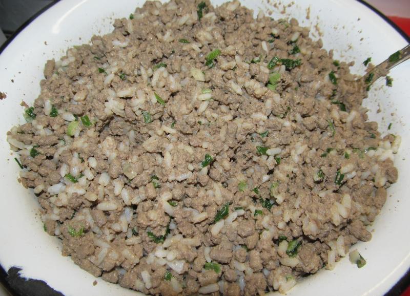 Пирожки с печенью и рисом - фото шаг 5