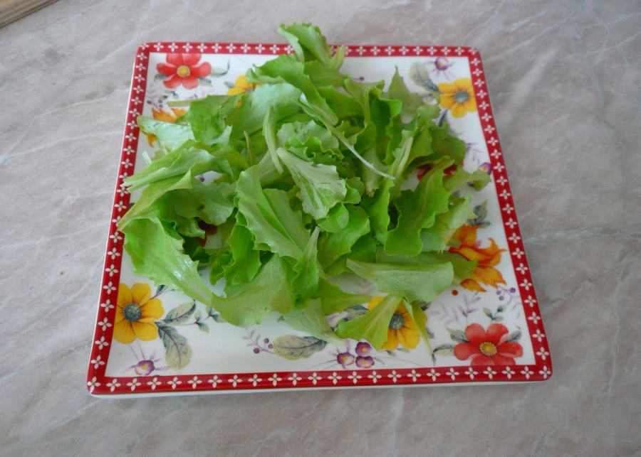Салат с копченым мясом - фото шаг 2