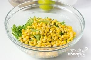 Салат из сардины в масле - фото шаг 3