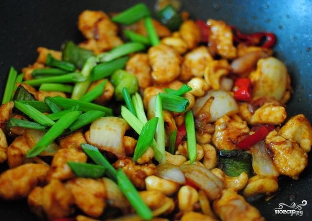 Курица по-тайски с кешью - пошаговый рецепт с фото на Повар. ру