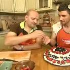 """Рецепт Торт """"Божественный"""" из бисквитного печенья с фруктами"""