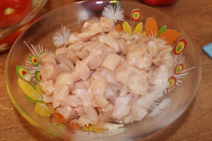 Курица в перце в духовке   - фото шаг 2
