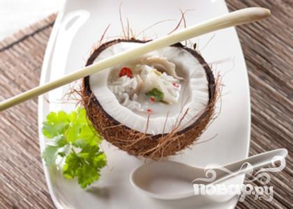 Кокосовый суп с рисом